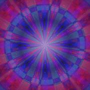 Color magic ring rays Stock Illustration