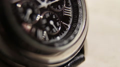 Watches macro Stock Footage