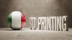3d Printing Concept Stock Illustration