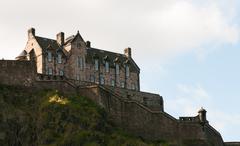 Edinburgh Castle - stock photo
