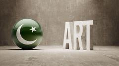 Stock Illustration of Pakistan. Art  Concept