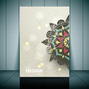 Vector Fashion brochure, flyer, magazine cover & poster template Piirros