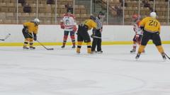 Hockey time, Ice Hockey team sport game day - stock footage