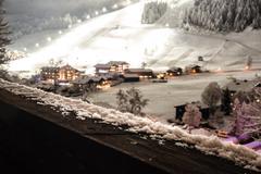 Picturesque winter scene Stock Photos