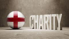 England. Charity  Concept - stock illustration