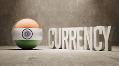 Stock Illustration of India. Currency  Concept