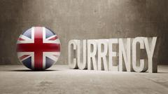 United Kingdom. Currency  Concept - stock illustration
