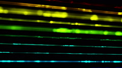 Futuristic technology light stripe video animation, loop HD 1080p Stock Footage