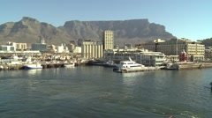 Cape town´s harbour Stock Footage