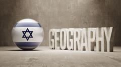 Geography  Concept. Stock Illustration