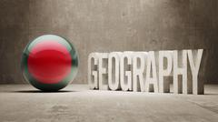 Stock Illustration of Bangladesh. Geography  Concept.