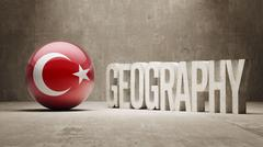 Stock Illustration of Turkey. Geography  Concept.