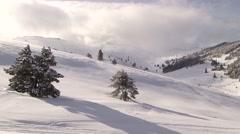 Uludag Mountain in Bursa, Turkey. January 2015 Winter. Ski Area Stock Footage