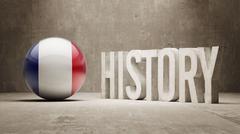 France. History  Concept. - stock illustration