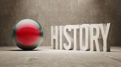 Bangladesh. History  Concept. - stock illustration