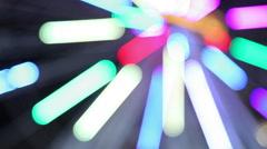 Illumination ferris wheel rays Stock Footage