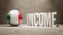 Income  Concept. - stock illustration