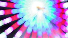 Ferris wheel illumination intensive Stock Footage
