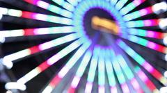Ferris wheel illumination watsch 2 - stock footage