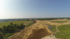 Aerial Stock Footage Grand construction - stock footage