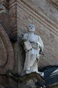 Saint Peter the apostle Basilica Santa Maria della Steccata, Parma - stock photo