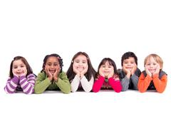 Stock Photo of Group of children