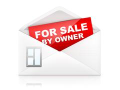 Stock Illustration of Envelop - For Sale By Owner