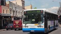 King St, Newtown, NSW, Australia - Circa 2014 Stock Footage