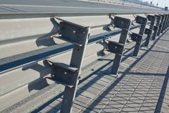 Double rail guards - stock photo