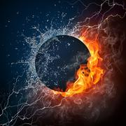 Stock Illustration of Black Hole