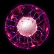 Volleyball Ball Wheel Piirros