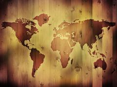 World Map Piirros