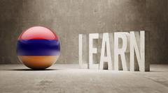 Armenia. Learn Concept. - stock illustration