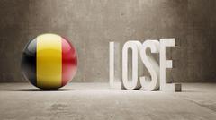 Belgium. Lose Concept. - stock illustration