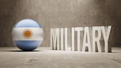 Argentina. Military Concept. - stock illustration