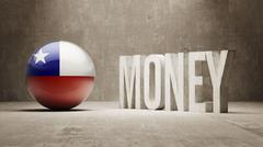 Stock Illustration of Chile. Money Concept.