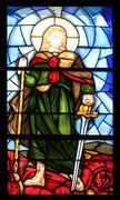 Saint Michael - stock photo