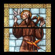 Saint Francis of Assisi Stock Photos