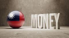 Taiwan. Money Concept. - stock illustration