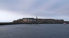 Saint Malo - France Stock Footage