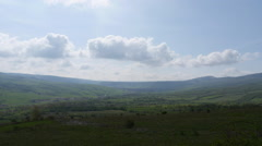 Timelapse of Romanian coutryside Stock Footage