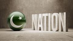 Pakistan. Nation Concept. - stock illustration