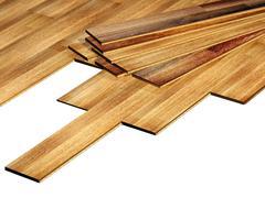 Stock Photo of New oak parquet