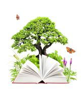 Stock Photo of Book of nature
