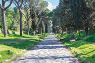 Stock Photo of VIa Appia Antica Rome