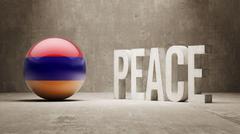 Armenia. Peace Concept. - stock illustration