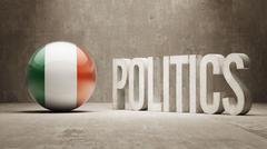 Ireland. Politics Concept. Stock Illustration