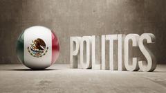 Mexico. Politics Concept. - stock illustration