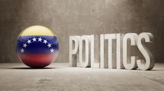 Venezuela. Politics Concept. Stock Illustration