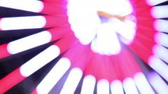 Ferris wheel illumination 2 Stock Footage